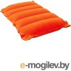 Надувная подушка Bestway Flocked Air Travel Pillow 67485
