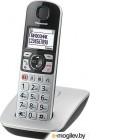 Телефон DECT Panasonic KX-TGE510RUS Эко-режим, Память 150, 330h, Функции для пожилых людей.