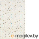 Плед детский ОТК Мишки и звезды 100x150 (велсофт)