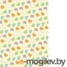 Плед детский ОТК Разноцветные киски 100x150 (велсофт, желтый)