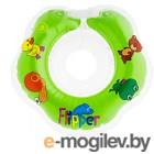 Круг для купания Roxy-Kids Flipper FL001 (зеленый)