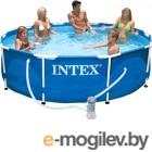 Каркасный бассейн Intex Metal Frame / 56999/28202 (305x76)