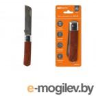 Нож электрика НЭ-01, 205 мм, деревянная рукоятка МастерЭлектрик TDM (Нож электрика НЭ-01, 205 мм, деревянная рукоятка МастерЭлектрик TDM)