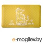 принадлежности для купания Антискользящий резиновый коврик для ванны Roxy-Kids BM-M164Y Yellow