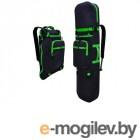 Аксессуары для самокатов Рюкзак Skatebox Для электросамокатов Graphite-Green STU-ES-34-green