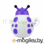 СТАРТ (4670012291473) Компактный декоративный светильник-ночник от электросети.  NL 1LED Жук фиолет