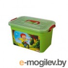 Ящик для хранения Полимербыт Радуга 81001 (зеленый)