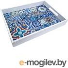 Поднос Grifeldecor Марокко со стеклом (32x27)