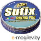 Леска плетеная Sufix Matrix Pro x6 0.40мм / SMP40M100X6RU (100м, разноцветный)
