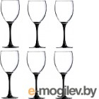 Набор бокалов для вина Luminarc Domino H8169 (6шт)