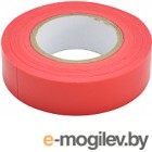 Изолента ETP ПВХ 19ммx20м (красный)