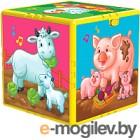 Развивающая игрушка Азбукварик Говорящий кубик. В гостях на ферме