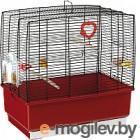Клетка для птиц Ferplast Rekord 1 / 52006170W2 (бордовый)