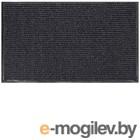 Грязезащитный коврик No Brand Ребристый 90x120 (серый)