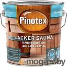 Лак Pinotex Lacker Sauna 20 5254108 (2.7л, полуматовый)