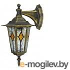 Бра Duewi Geneva  декоративное стекло водопад цвет чёрное золото, IP44, E27, 60 Вт, 24163 8