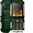 Мобильный телефон BQ Tank Power [BQ-2430] <Green/Silver> Dual SIM
