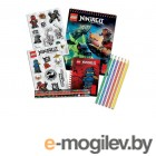 Блокноты и бизнес-тетради Набор канцелярских принадлежностей Lego Ninjago 51631