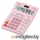 Калькулятор настольный Casio GR-12C-PK розовый 12-разр.