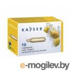Сифоны для газирования воды KAYSER KC02-10 1101 / MOSA CN08 8гр баллончики для сифона 10шт
