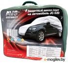 Тенты для авто и мото AVS JC-520 влагостойкий, размер 4XL 572х203х160см - на внедорожник