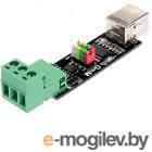 Электронные конструкторы и модули Радио КИТ Модуль двустороннего преобразования USB в TTL или RS485 RC011
