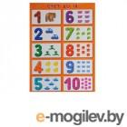 Обучающие книги Мозаика-Синтез Цифры - счет от 1 до 10 МС10101