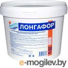 Средство для бассейна дезинфицирующее Маркопул Кемиклс Лонгафор таблетки по 200гр в ведре (2.6кг)