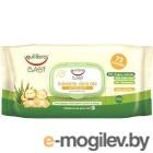 Влажные салфетки Equilibra Baby нежные для детей (72шт)