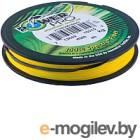 Леска плетеная Power Pro Hi-Vis Yellow 0.19мм / PP092HVY019 (92м)