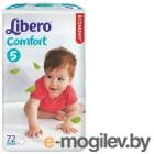 Libero  Comfort 5 10-16 кг 72шт