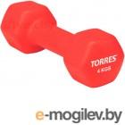 TORRES PL50014 4 kg red