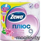 Туалетная бумага Zewa Плюс. Аромат сирени (1x4рул)