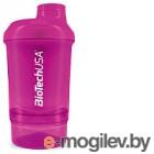 Шейкер спортивный BioTechUSA Wave Nano I00003072 (пурпурный)