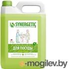 Средство для мытья посуды Synergetic Биоразлагаемое. Яблоко (5л)
