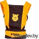 Сумка-кенгуру Polini Kids Disney baby Медвежонок Винни и его друзья с вышивкой (шоколадный)