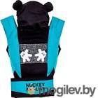 Сумка-кенгуру Polini Kids Disney baby Микки Маус с вышивкой (черный)