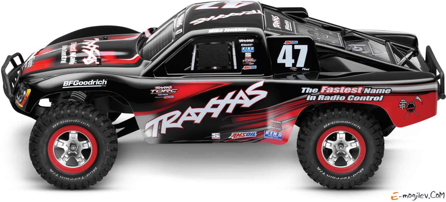 Модель шорт-корс трака Traxxas Slash VXL