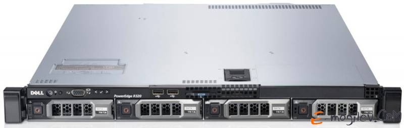 "Dell PowerEdge R320 Intel Xeon E5-2420v2 2.2GHz 15MB 8Gb 2RLV RD 1.6 noHDD 2.5"" max8 DVD-RW H710 iD7En 2x350W NBD3Y (210-39852-64)"