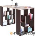 Письменный стол Сокол-Мебель СПМ-15 (венге/беленый дуб)