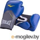 Боксерские перчатки Everlast Pro Style Elite P00001241 / 8oz (к/з, синий)