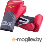 Боксерские перчатки Everlast Pro Style Elite P00001243-10 / 10oz (к/з, красный)