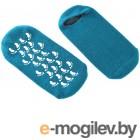 Косметологические принадлежности Маска-носки Bradex увлажняющие, гелевые многоразового использования Turquoise KZ 0483