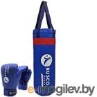 Набор для бокса детский RuscoSport 6oz (синий)