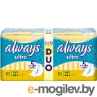 Прокладки гигиенические Always Ultra Light Duo (20шт, ароматизированные)