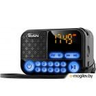 SVEN PS-25,  черный (3 Вт, FM-тюнер, USB, microSD, LED-дисплей,
