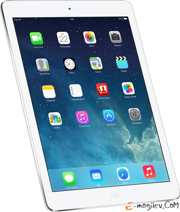 Apple iPad Air MD789TU/A 32 Gb, Wi-Fi silver