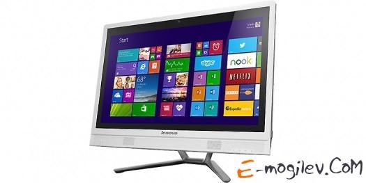 "Lenovo IdeaCentre C460  57321520 i3-4130T/4G/1Tb/DVD-SMulti/21.5"" FHD(1920x1080) AG/NV 705M 2G/Wi-Fi/cam/Win8.1/White"