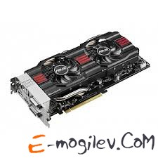 ASUS 4Gb PCI-E GTX770 DIRECT CU II OC с CUDA GFGTX770, GDDR5, 256 bit, 2*DVI, HDMI, DP, Retail