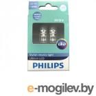 Автомобильные лампочки Автомобильные лампочки Philips Ultinon LED W5W 12V-1W 4000K 11961ULW4X2 (2 штуки)